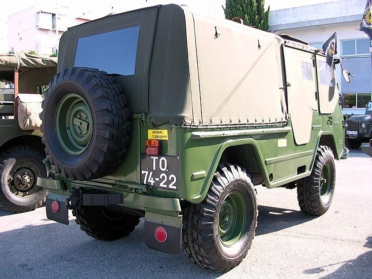 Rear of Volvo Laplander