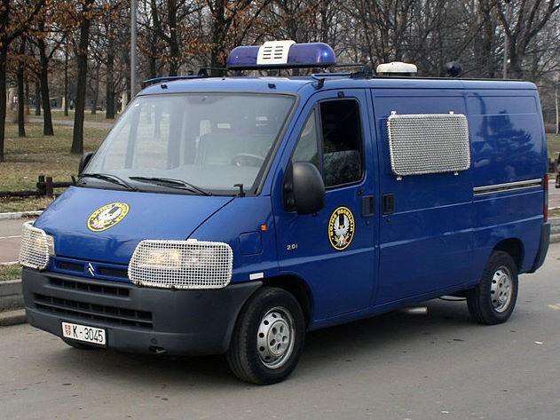 Serbian Army Military Police van