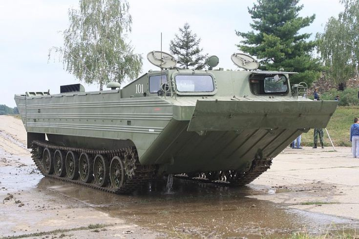 PTS-M tracked amphibious transport
