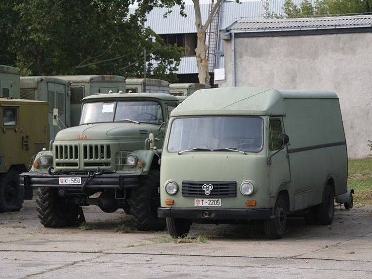 TAM-80 van and ZiL-131