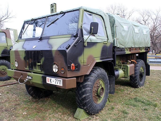 ТАМ-110 4x4 military truck