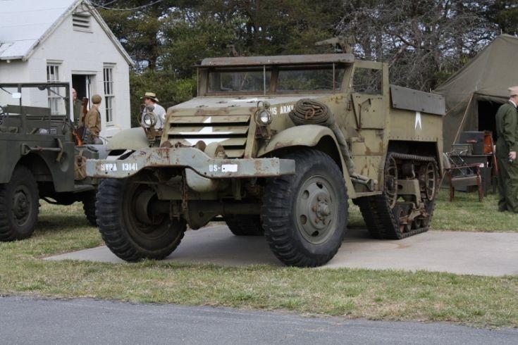 M3 halftrack  Ft. Miles, DE