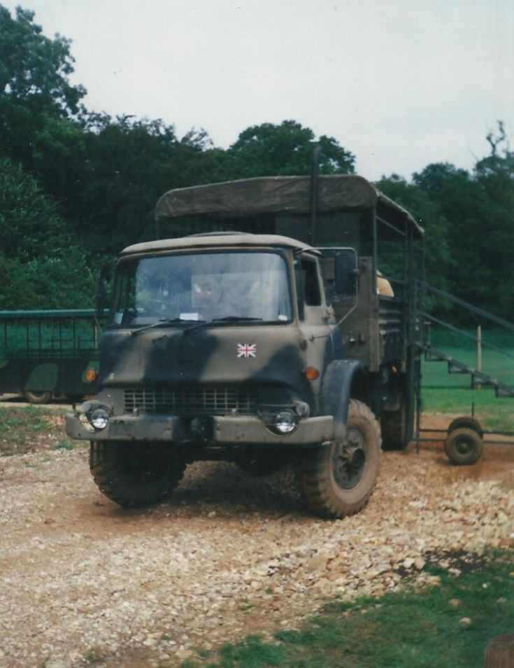 Bedford lorry in 1980s