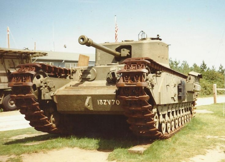 Vickers-Armstrong Churchill tank