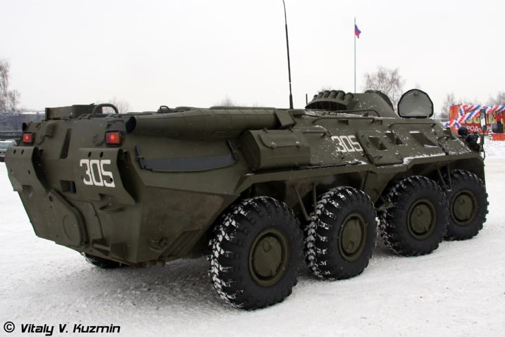 Photo of BTR-80 from ODON