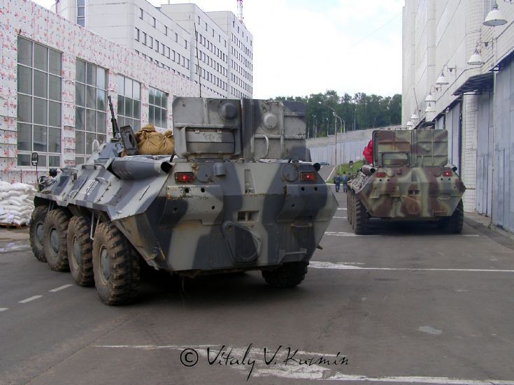 Arzamaz Moscow OMON BTR-80