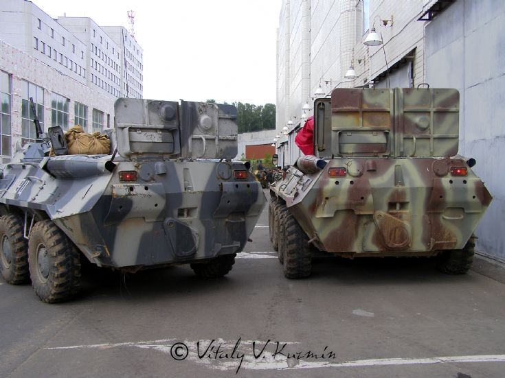 Photo of Moscow OMON BTR-80