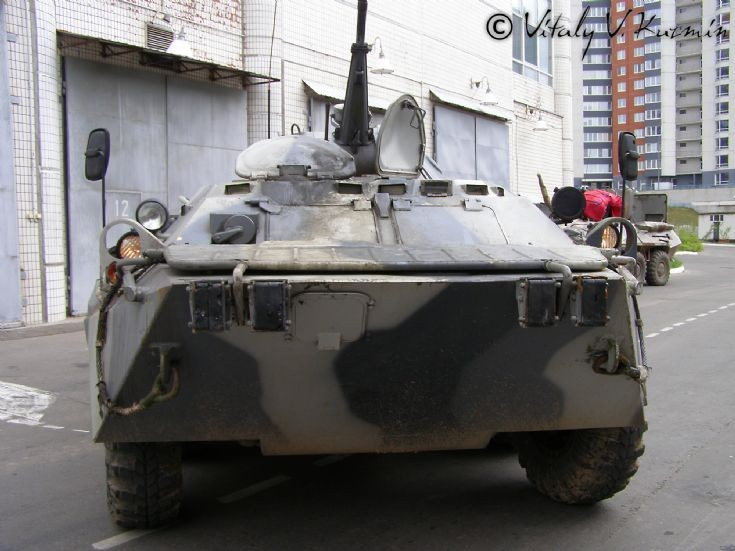 Moscow OMON BTR-80 front