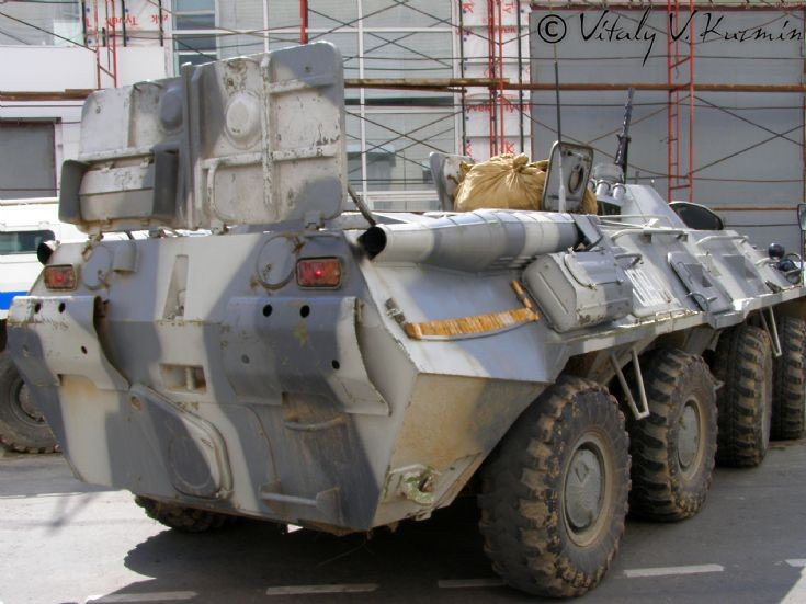 Moscow OMON BTR-80 picture