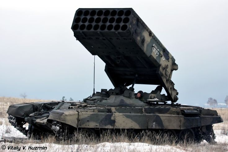 Picture of BM-1 from TOS-1A