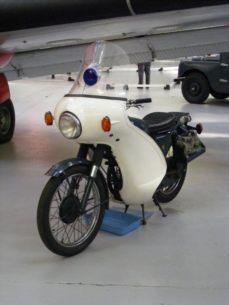 BSA RAF Police Motorcycle