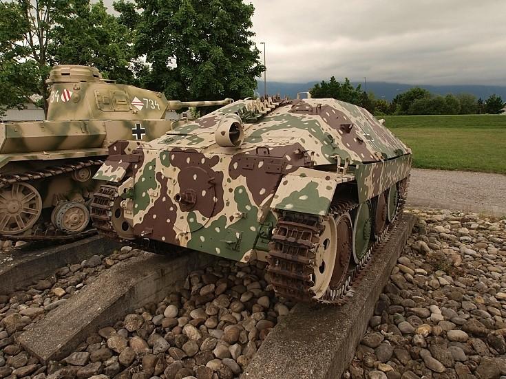 Jagdpanzer 38(t) 'Hetzer' at Thun