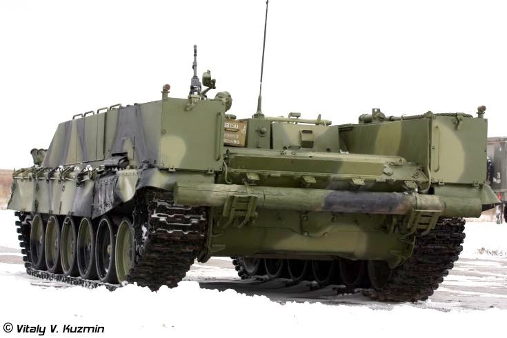Photo of  flamethrower personnel carrier BMO-T