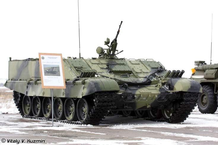 Heavy flamethrower apc BMO-T