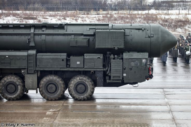 Russian RT-2PM2 Topol-M