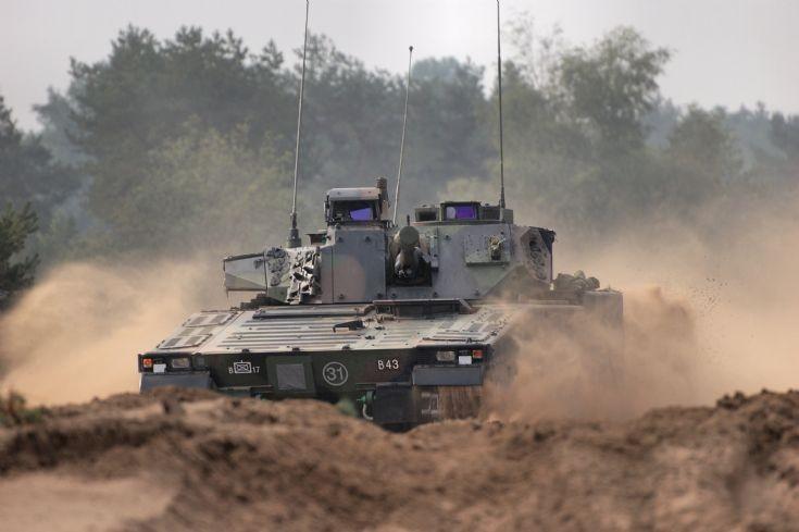 Royal Netherlands army, training exercise