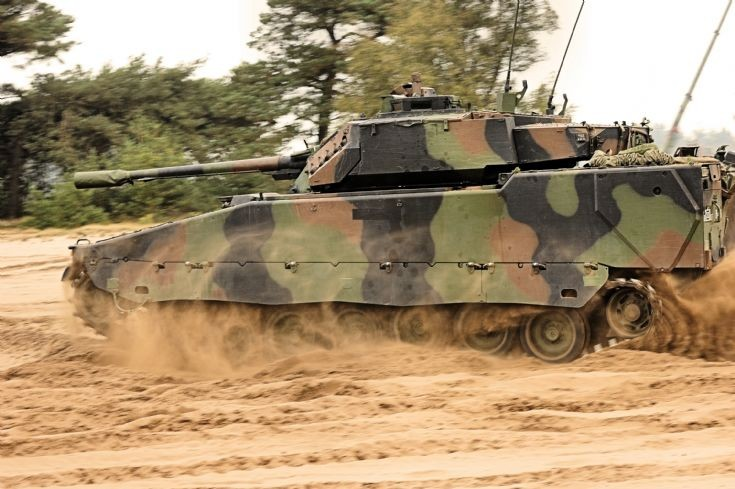Royal Netherlands army, CV9035NL in Oirschot