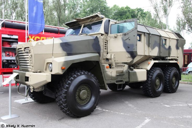 Photo of Ural-63099 armored vehicle