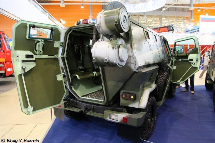 Rear of Скорпион-2М (Skorpion-2M)