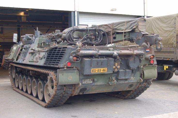 Royal Netherlands army, Leopard Bergepanzer