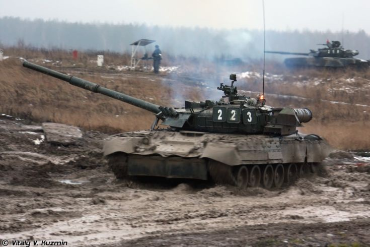 Picture of T-80U