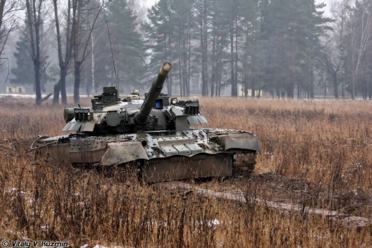 Photo of T-80U