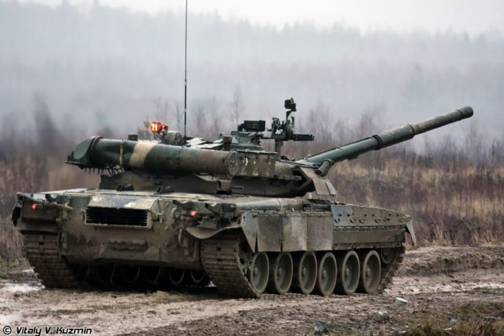T-80U of 4th Separate Tank Brigade