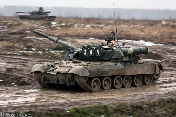 T-80U in Russia
