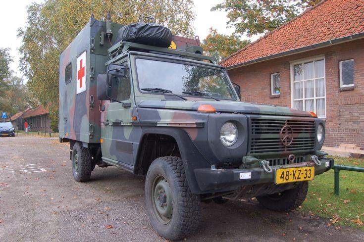 Royal Netherlands Army Mercedes Benz G ambulance