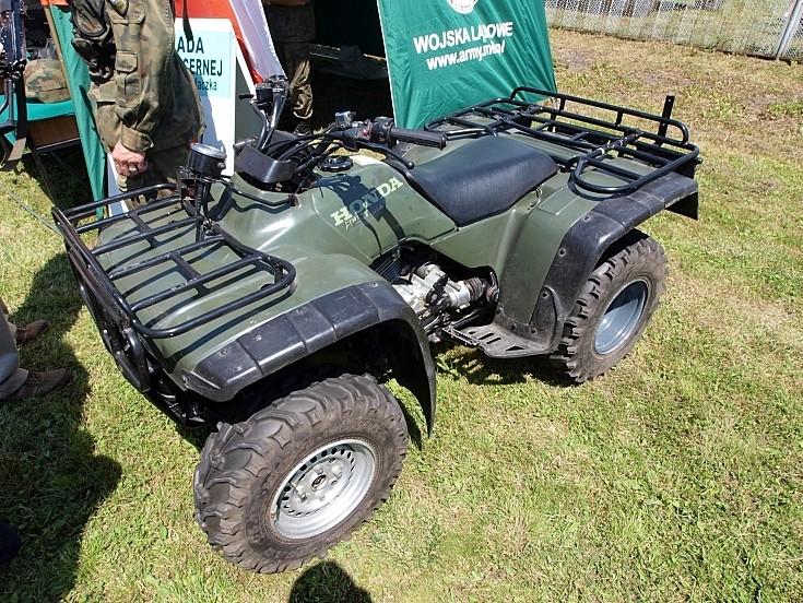 Polish army Honda Fourtrax