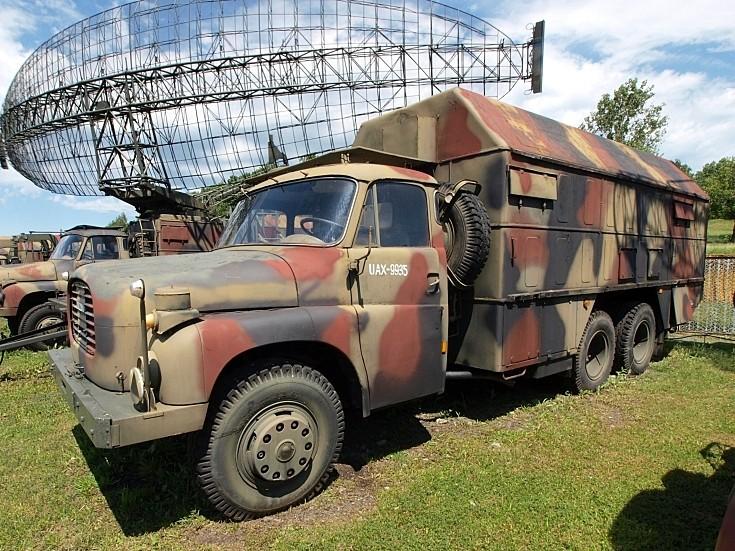 Tatra Radar unit