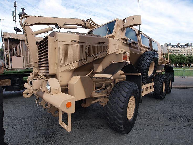 Buffalo MRAP in France