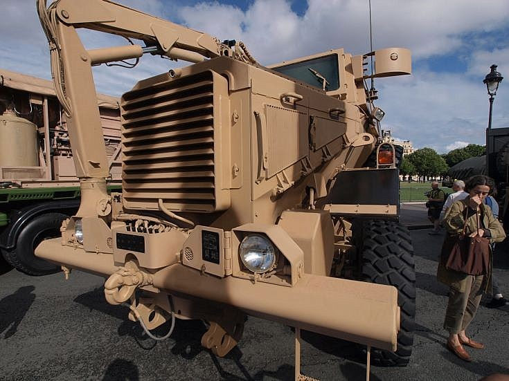 Buffalo MRAP at Bastille Day