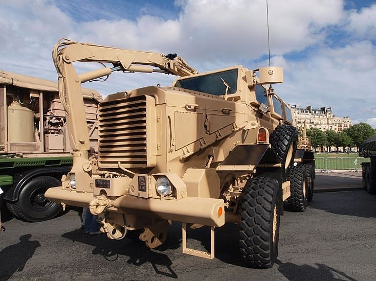 Force Protection Inc's Buffalo MRAP
