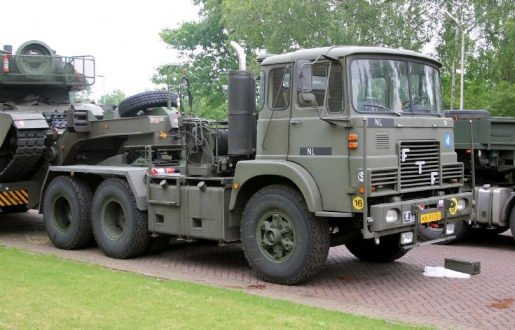 FTF MS 405 truck Dutch army