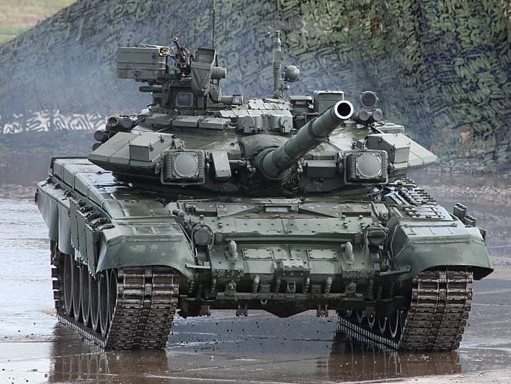 Photo of T-90A main battle tank