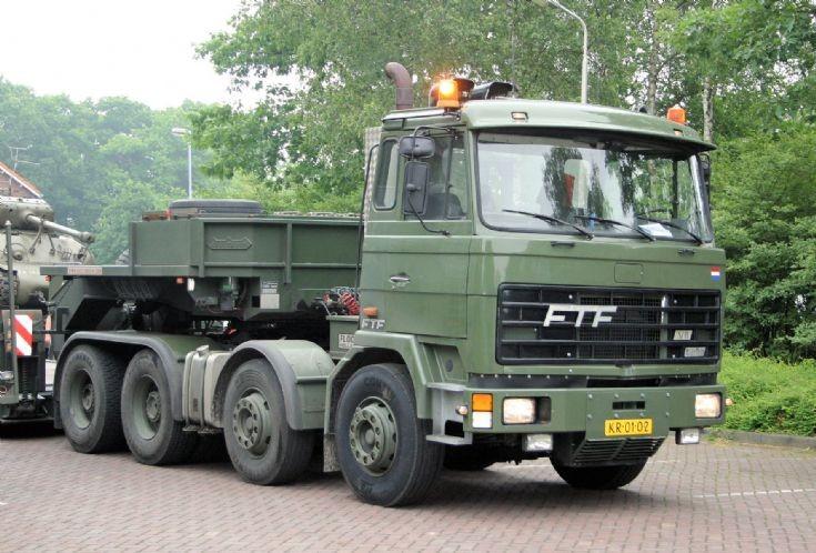 FTF truck Dutch army