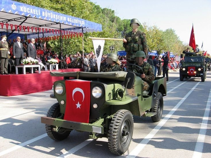 Jeep - Republic Day Parade