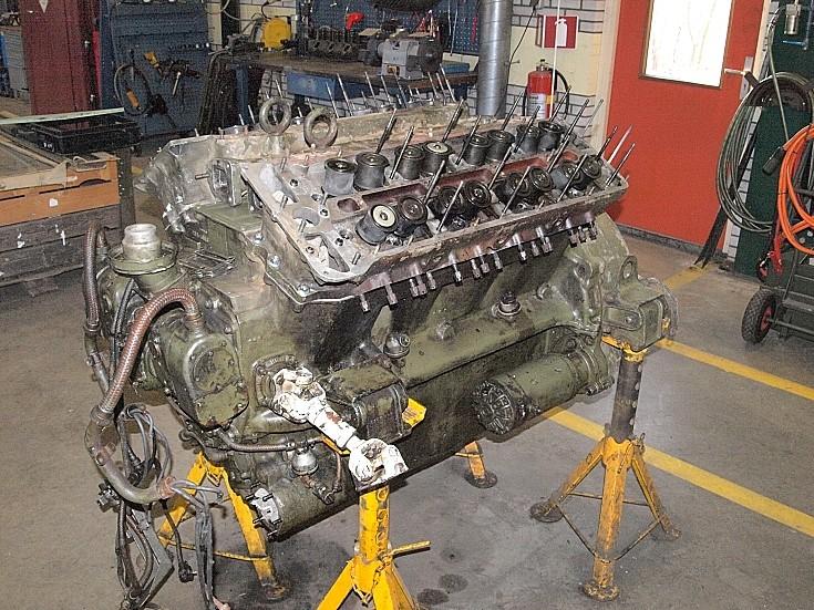 Engine of Sherman 341213