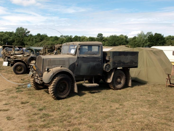 Unidentified military vehicle at W&P show
