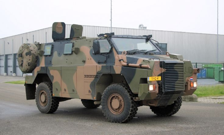 Bushmaster IMTV Dutch army