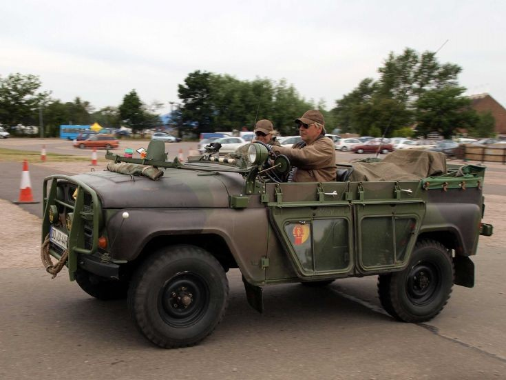 Unknown vehicle at the War & Peace Show