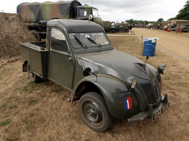 Unidentified Citroen at the W&P show