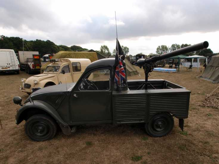 Unidentified Citroen at the War & Peace Show