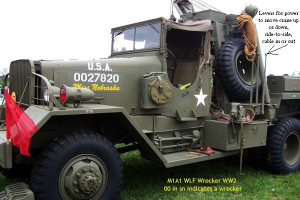 Driver's side M1A1 Wrecker