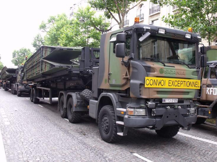 Scania Sprat support truck.