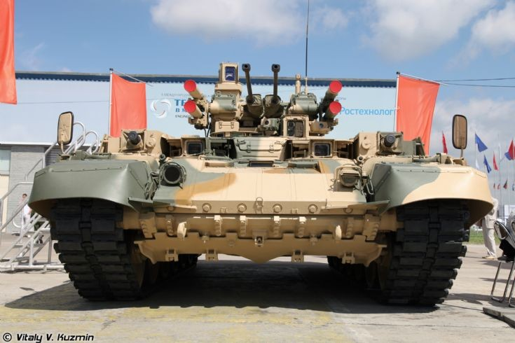 Tank support combat vehicle BMPT