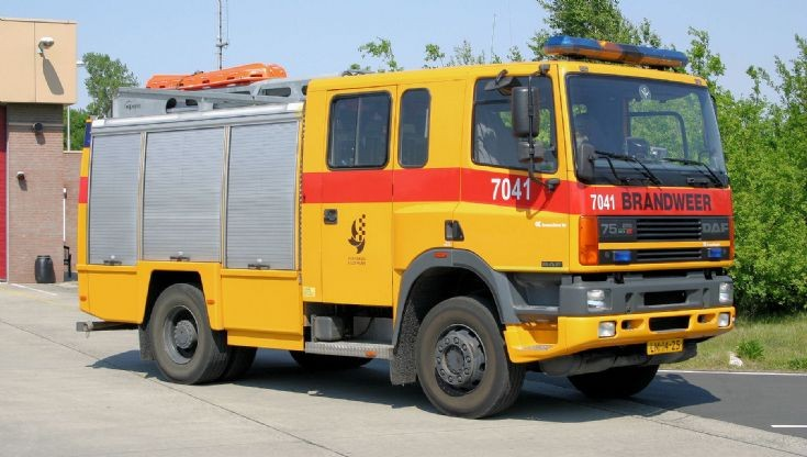 DAF 75 Fire engine RNLAF Gilze