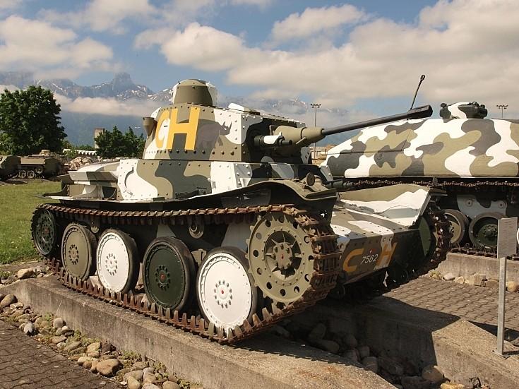 Panzerwagen 39 'Praga' at Thun Army Museum
