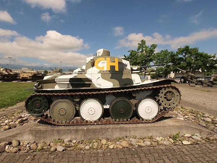 Panzerwagen 39 'Praga' in Switzerland